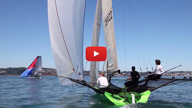 CLICK HERE to watch VRsport TV Tech Talk Video - 18 Foot Skiff