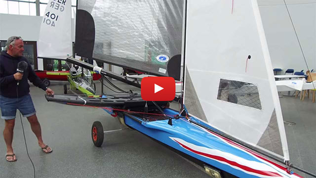 CLICK HERE to watch VRsport TV Tech Talk Video - International Canoe - Dave Timson