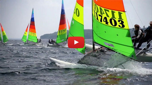 CLICK HERE to watch VRsport TV Tech Talk Video - Hobie 16