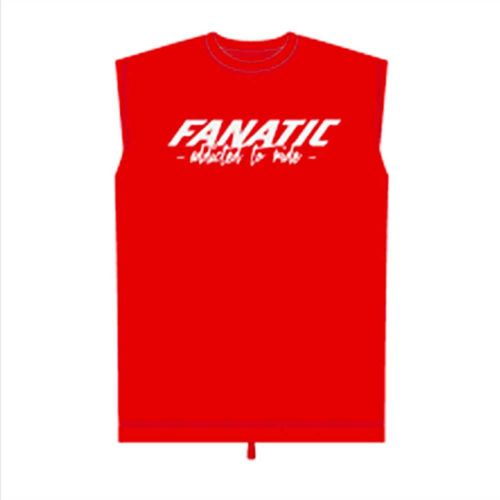 "Fanatic ""Addicted To Ride"" Red Race Vest"